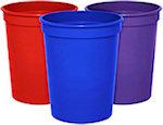 16oz Blank Smooth Stadium Cups